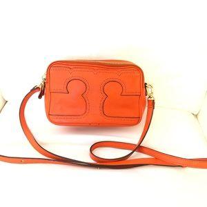 Tory Burch Amalie Triple Zip Crossbody Bag